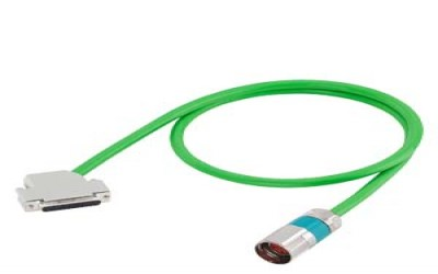 SIGNAL CABLE MOTION-CONNECT 800PLUS sin/cos - 50m - VERDE